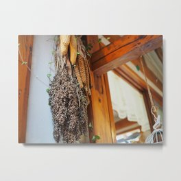 Woodwork and Whimsy Metal Print