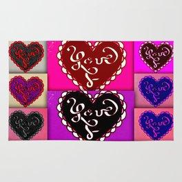MANY HEARTS OF LOVE Rug