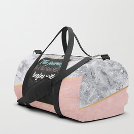 One step Duffle Bag