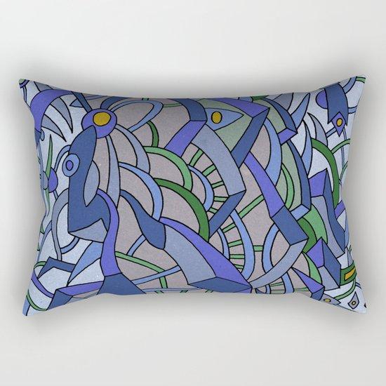 - sea sea sea - Rectangular Pillow