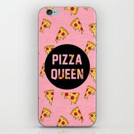 Pizza Queen - Pink iPhone Skin