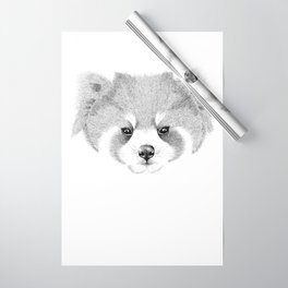 Red Panda Wrapping Paper