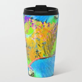 Macaw Fiesta  Travel Mug