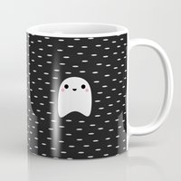 ghost Mugs featuring Ghost by Elisabeth Fredriksson