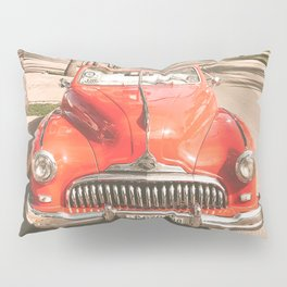 Vintage Car Pillow Sham