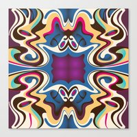 trip Canvas Prints featuring Trip by Cs025