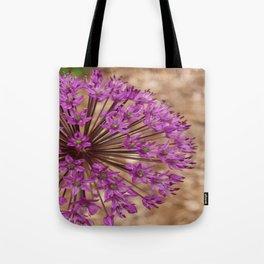 Single Purple Allium Tote Bag