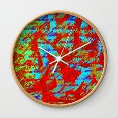 Design Delirium Red Wall Clock