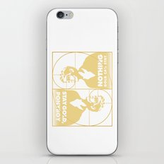 Stay (Nothing Gold Can Stay) Ponyboy iPhone Skin