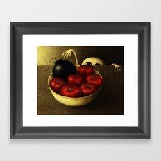 The Apples Framed Art Print