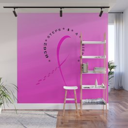 Breast Cancer Awareness month October 2017 Wall Mural