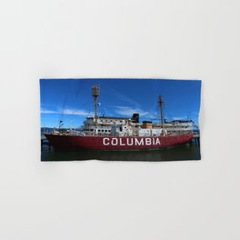 Fireship Columbia Hand & Bath Towel