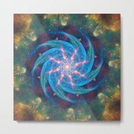Nova Star Mandala Metal Print