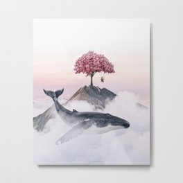 Daydreaming Metal Print