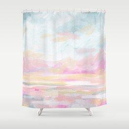 So Alive - Bright Ocean Seascape Shower Curtain