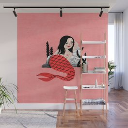 Sassy Mermaid Wall Mural