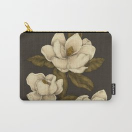Magnolias Carry-All Pouch