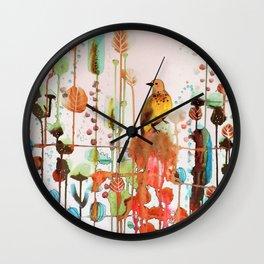 demander la joie Wall Clock