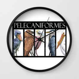 Pelecaniforms Wall Clock
