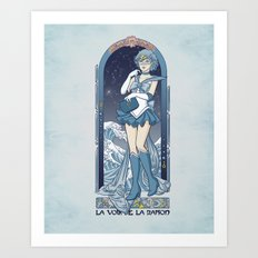 Voice of reason - Sailor Mercury nouveau Art Print
