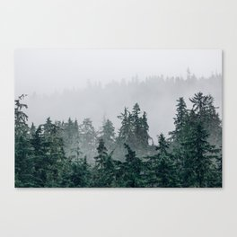 The Faded Fog Canvas Print