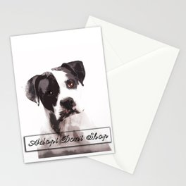 Adopt Don't Shop Stationery Cards