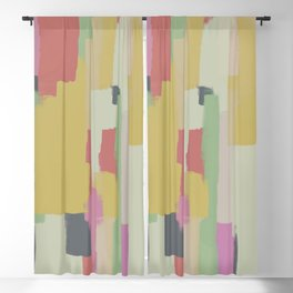 Abstract Painting No. 1 Blackout Curtain