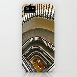 Stairs of the Palace, Lisbon, Portugal iPhone Case