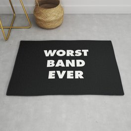 Worst Band Ever Rug