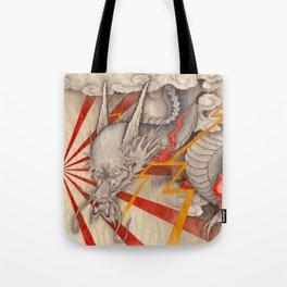 雲龍図 黒龍 天道-cloud dragon- Tote Bag