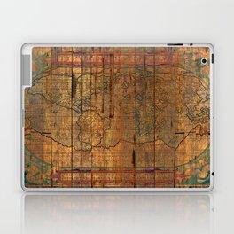 Distressed Old Map Laptop & iPad Skin