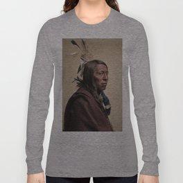 """Flying Hawk"" 1852-1931 Long Sleeve T-shirt"