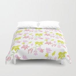 Tuberose floral Duvet Cover