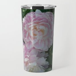 pink puffs Travel Mug