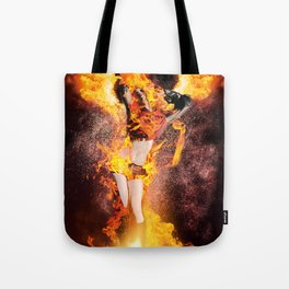 I am the Fyre Tote Bag