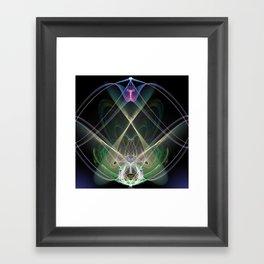 Ajna Activated Framed Art Print