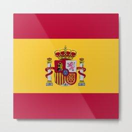 Spain flag emblem Metal Print