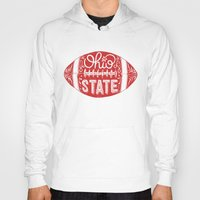 ohio state Hoodies featuring Ohio State Football by Kasi Turpin