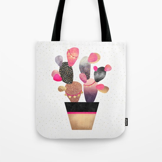Happy Cactus 2 Tote Bag