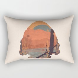 Autumn in the Gorge... - Arrowhead Rectangular Pillow