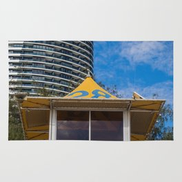 Lifeguard Hut Rug