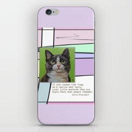Cat Quote iPhone Skin