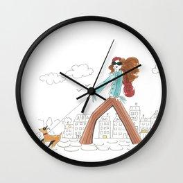 Se Promener / A Stroll Wall Clock