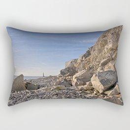 First Glimpse - Beachy Head Rectangular Pillow
