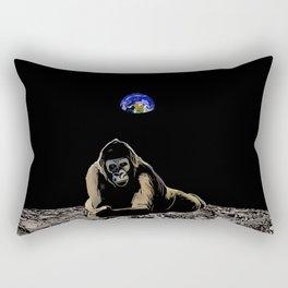 Moon Gorilla  Rectangular Pillow