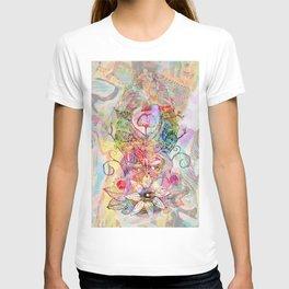 Ginkgo Spiralled Sunflower T-shirt