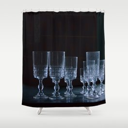 Party is over Shower Curtain