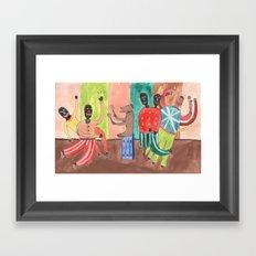 Tap Dance. Framed Art Print