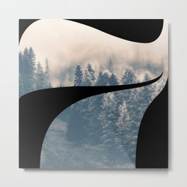 Nr. 7 | Numbers with a View | Typography Letter Art Metal Print