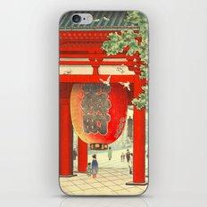 Big lantern-Asakusa temple iPhone & iPod Skin